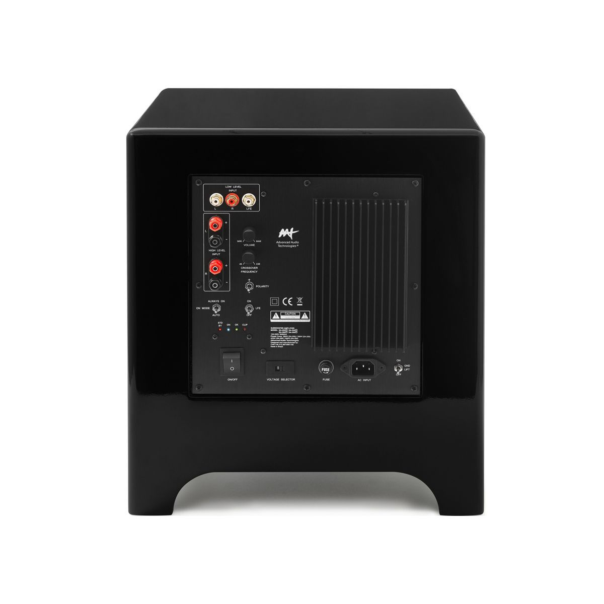 "Subwoofer Wireless Ativo Cube Modern 8"" 400W RMS AAT"