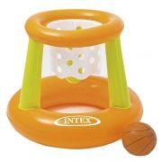 Cesta de basquete flutuante