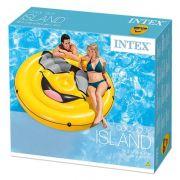 Colchão piscina ilha cara legal