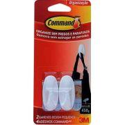 Gancho Command Design Branco 3M peq