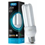 Lâmpada fluoresecente FLC 3u 20w 127v