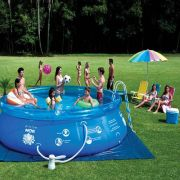 Piscina Splash Fun  9000L Combo - 110v