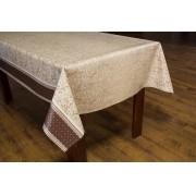 Toalha de mesa térmico dekorama Florença cerejeira marrom