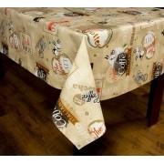 Toalha de mesa térmico dekorama Turim café marrom