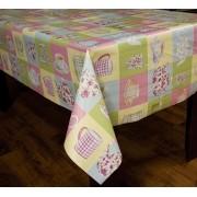 Toalha de mesa térmico dekorama xícara multicolorido