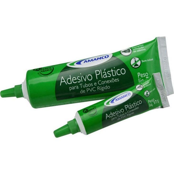 Adesivo Plástico bisnaga 75g | Para tubos e conexões de PVC