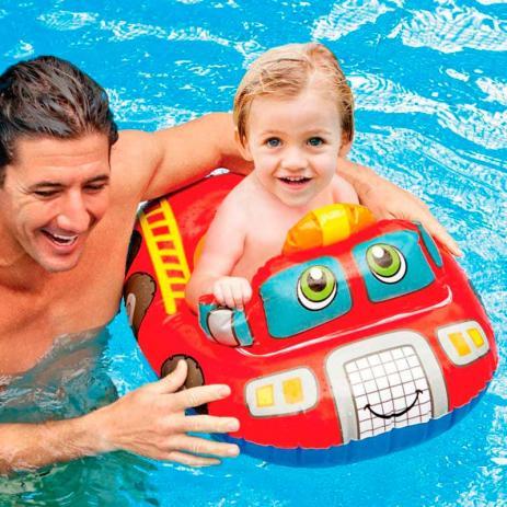 Baby bote Inflável   Carro de bombeiro