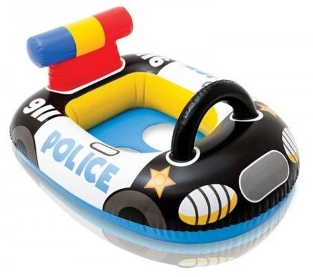 Baby Bote Inflável Carro de Policia