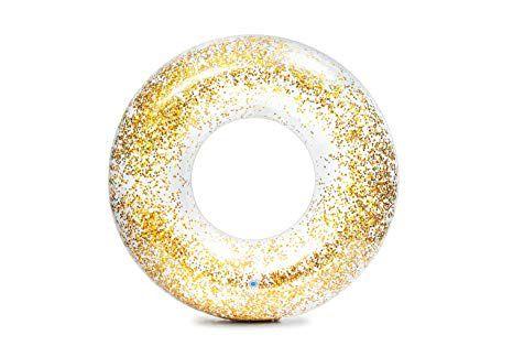 Boia Glitter Dourado