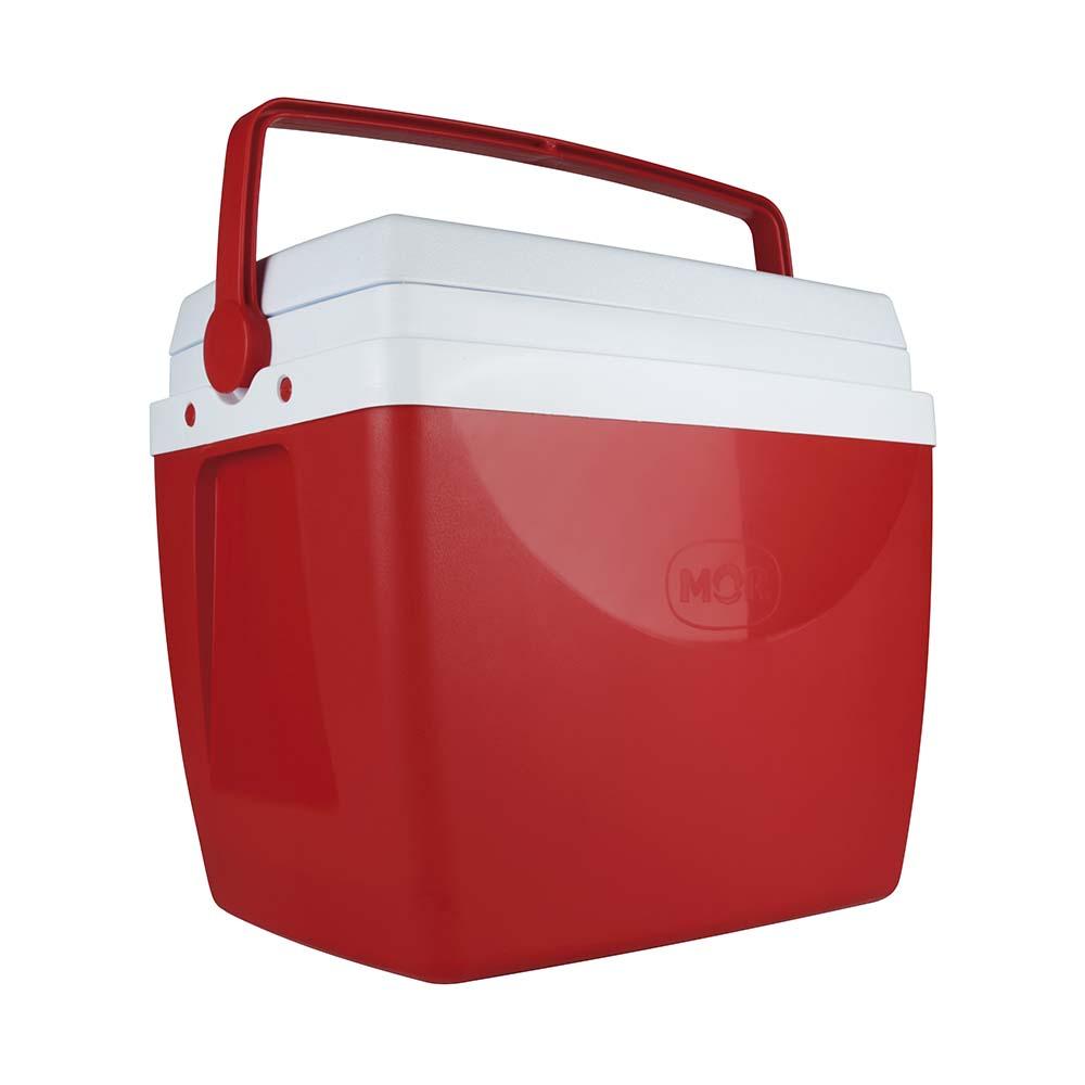 Caixa Térmica 34 litros vermelha  - Mor