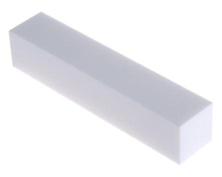 Chapa de Nylon quadrada 25 X 25 X 420 mm
