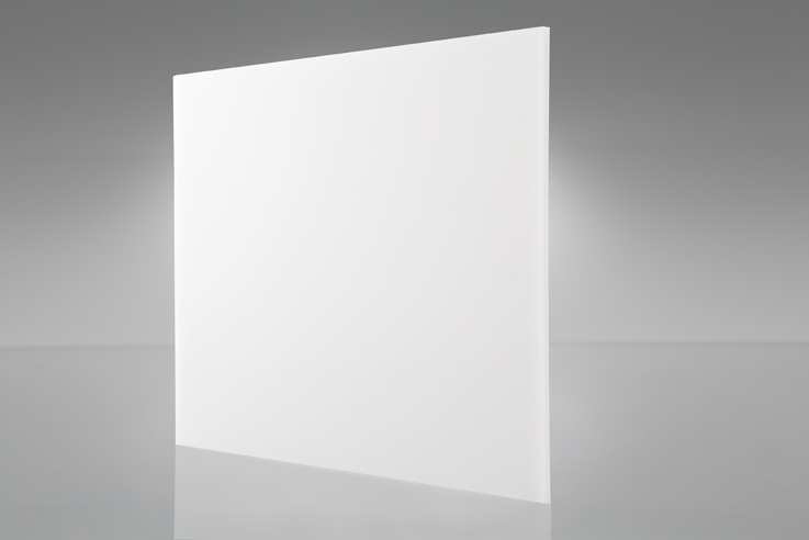 Chapa Ps branco luminária 2,0mm