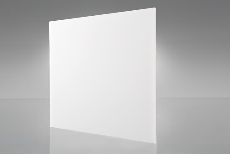 Chapa Ps branco luminária 3,0mm