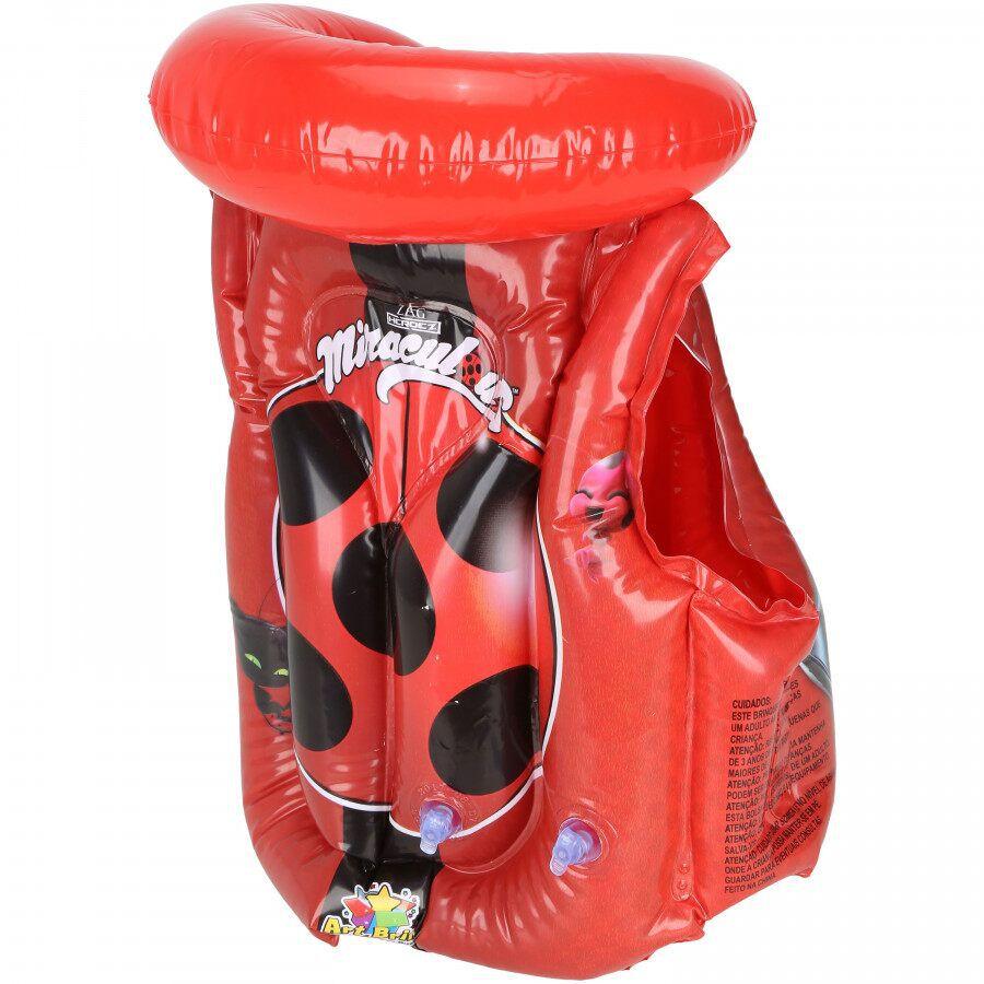 Colete Inflável  Ladybug Miraculous