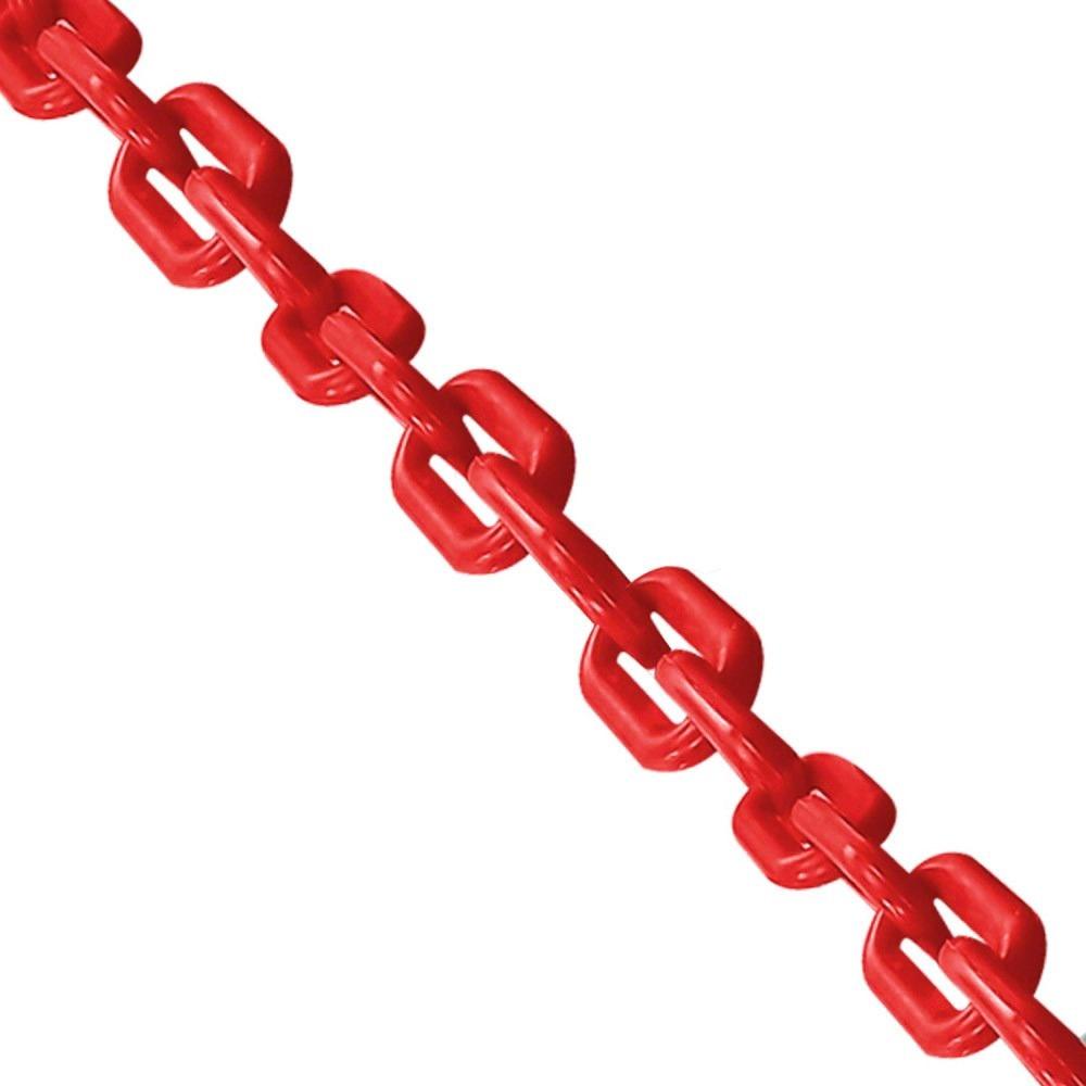 Corrente Plástica grande vermelha