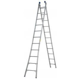 Escada extensível dupla 2 x 10 - Mor