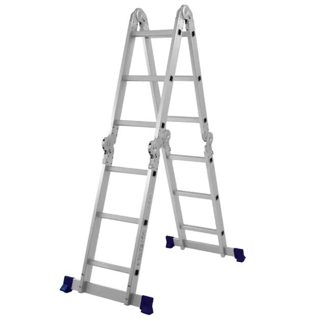 Escada Multifuncional 4x3 (12) degraus
