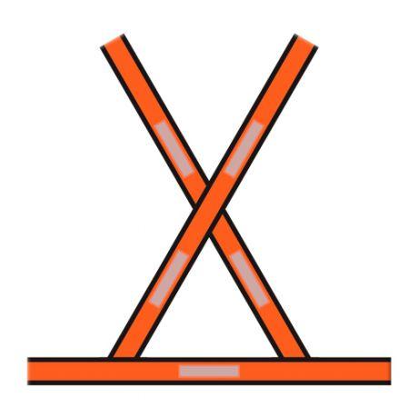Faixa Refletiva Formato X