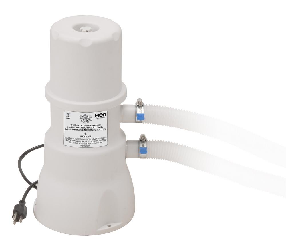 Filtro para piscina vazão 3600L - 110v