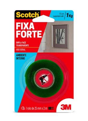 Fita Fixa Forte 3M 25mmx2m