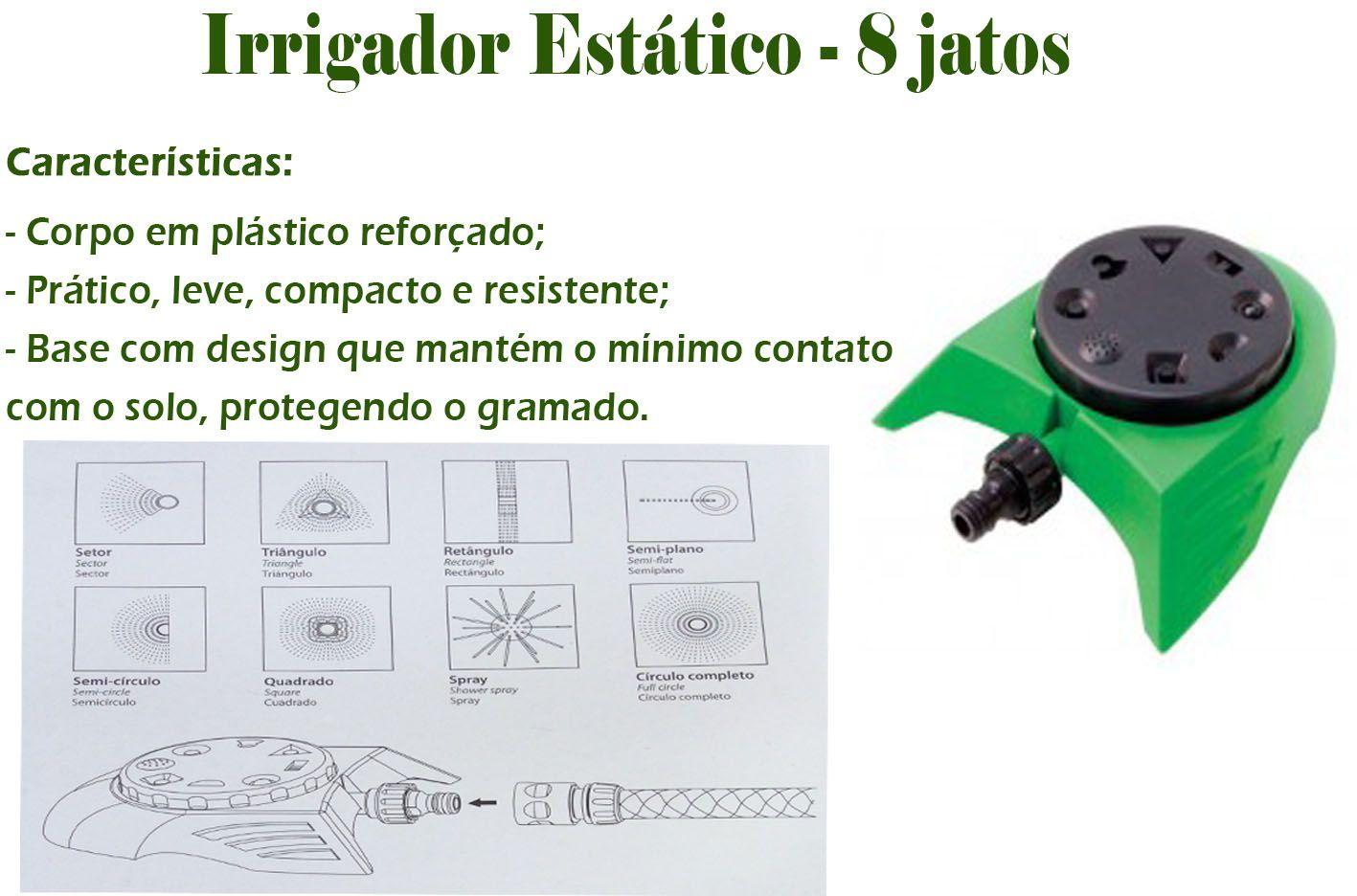 Irrigador Estático 8 jatos DY-6011- Trapp