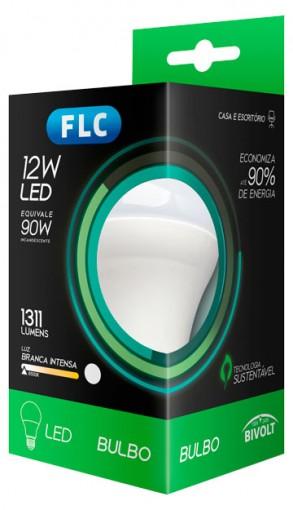 Lâmpada FLC led 12w 90w bivolt