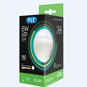 Lâmpada FLC led 6w 40w bivolt