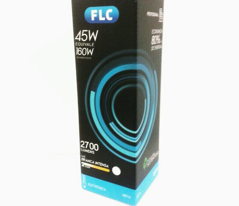 Lâmpada fluorescente FLC 4u 45w 127v
