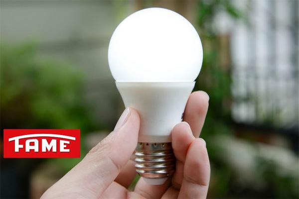 Lâmpada LED A60 9,8W 6.500K - Luz Branca Fria