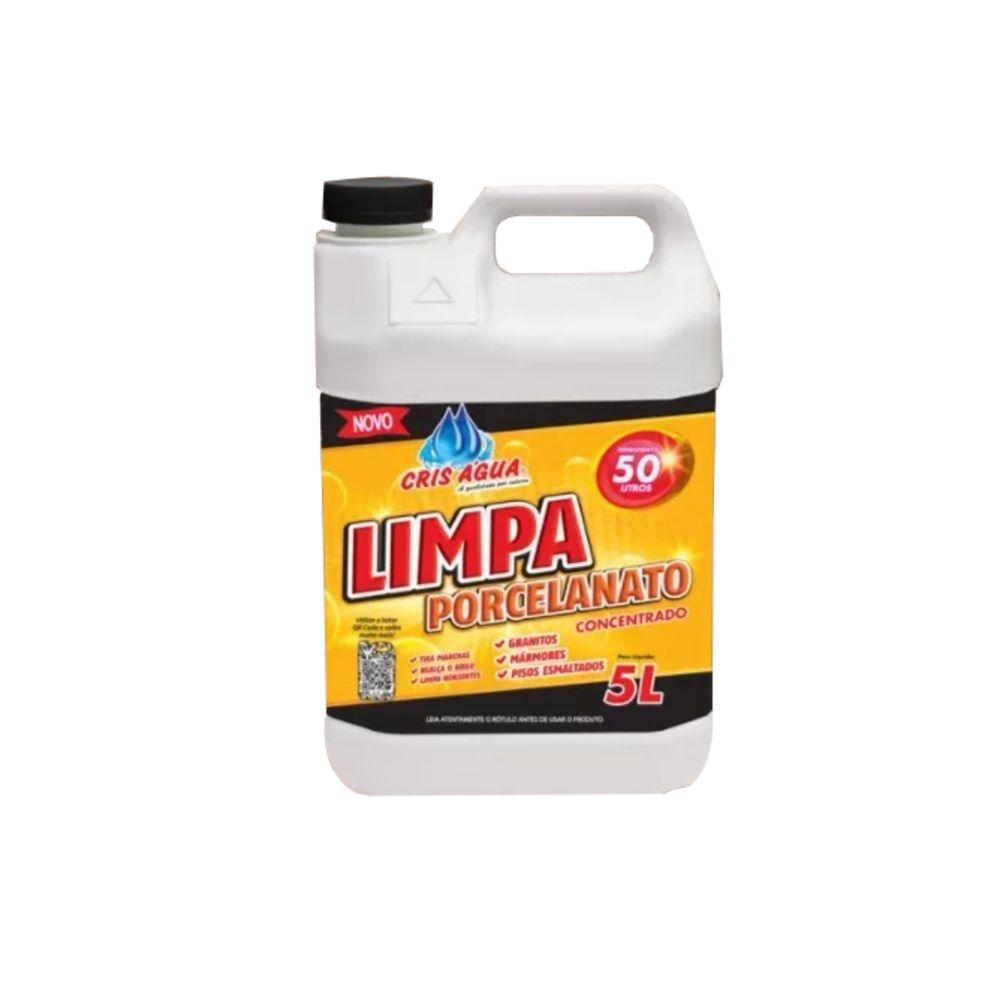 Limpa Porcelanato 5lt Cris Água