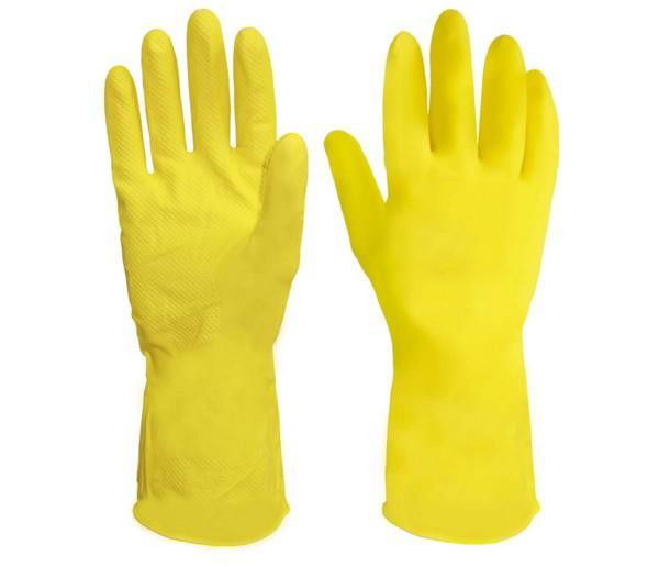 Luva latex Amarela - Supersafety