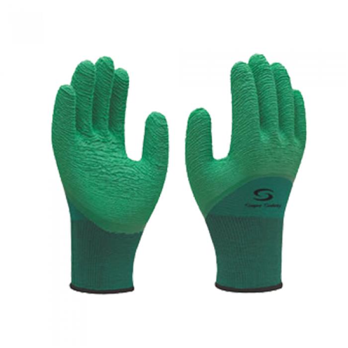 Luva Supernitril 1009 verde- Supersafety