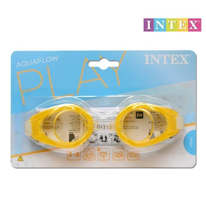 Óculos para Natação Play Amarelo