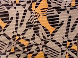 Passadeira tropical talheres abstratos