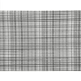 Passadeira tropical tecido cinza