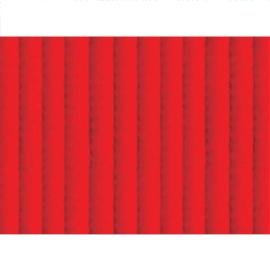 Passadeira tropical vermelho Ferrari 65cm