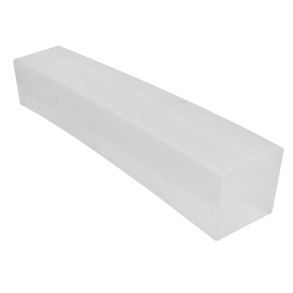 Perfil de silicone s/furo 8x8