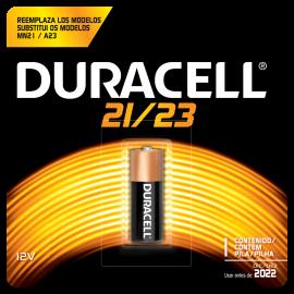 Pilha Duracell alcalina mn21