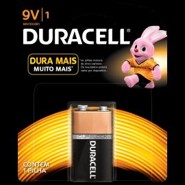 Pilha Duracell bateria 9v