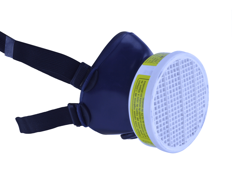 Respirador c/1 filtro  - Plastcor