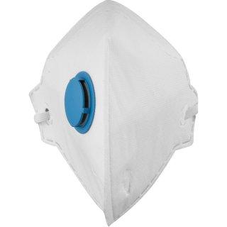Respirador Dobrável PFF 1(s) com valvula Vonder