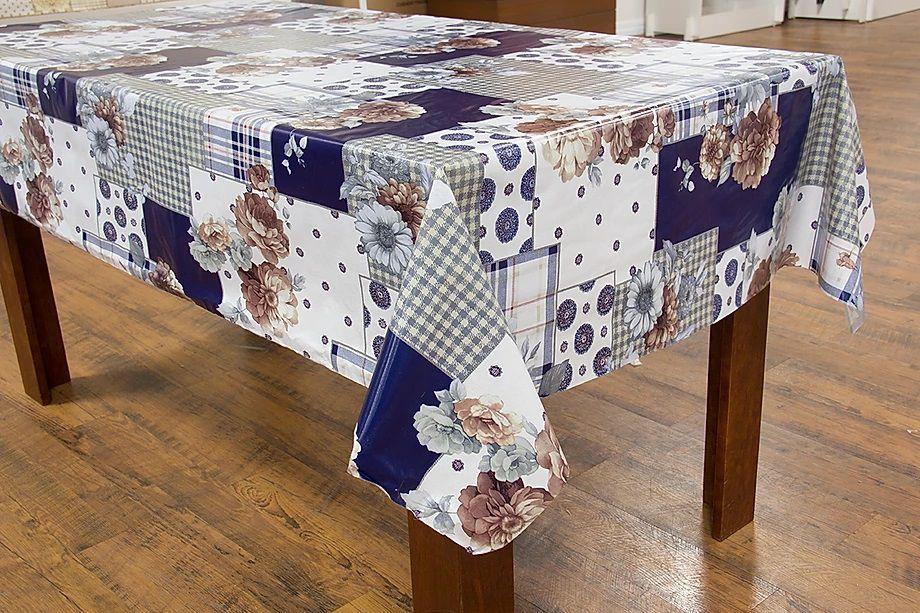 Toalha de mesa Termovip Miami flor azul