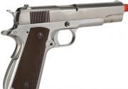 Pistola Airsoft WE 1911 Cromada Full Metal Bw