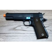 Pistola Airsoft WE 1911 Preta Full Metal