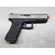 Pistola Airsoft WE Glock G17 G4 Silver