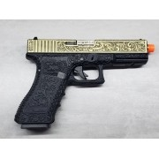 Pistola Airsoft WE Glock G17 Ivory