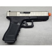 Pistola Airsoft WE Glock G18 G3 Silver