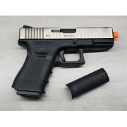 Pistola Airsoft WE Glock G23 G4 Silver