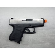Pistola Airsoft WE Glock G26 G3 Silver