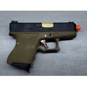 Pistola Airsoft WE Glock G26 T06
